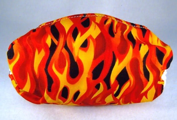 Child Flames Mask