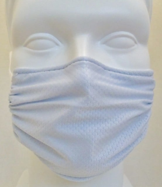 Child Honeycomb Light Blue Mask