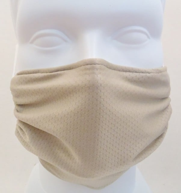 Child Honeycomb Beige mask
