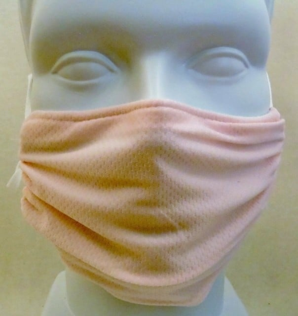 Child Honeycomb Pink mask