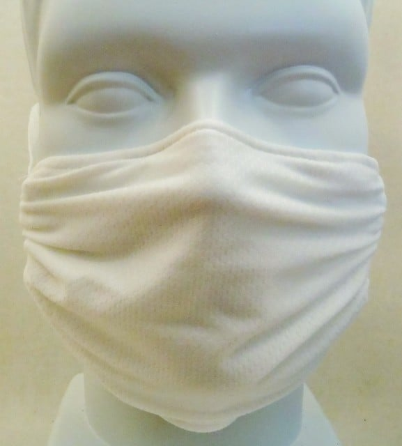 Child Honeycomb White mask