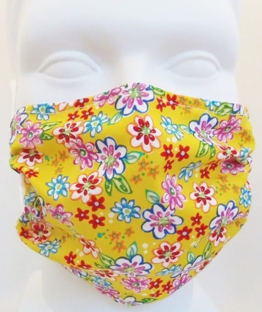 Child Mini Flowers Mask