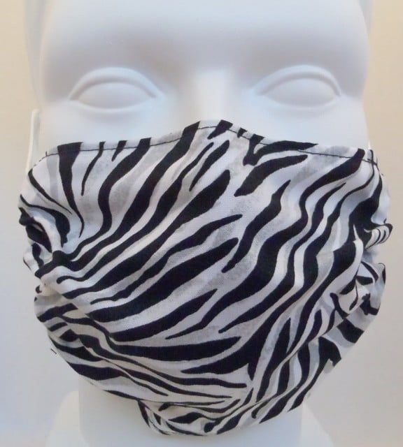 Child Zebra Mask